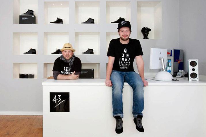 43einhalb Laden in Fulda, Oliver Baumgart & Mischa Krewer