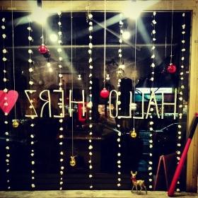 …getting lovely #x-mas shit done… #halloherz #berlin #kastanienallee #christmas #shit #blingbling #glitzi #flitzi #hohoho #omg #love