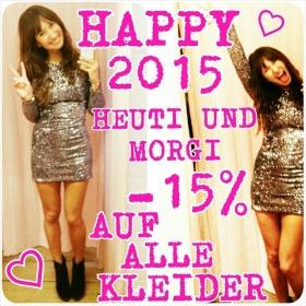 BOOOOOOM 2015!!! …aaaabgefahren!!! VOR LAUTER AUFREGUNG KLOPPEN WIR HEUTE UND MORGEN MAL EBEN 15% RABATT AUF ALLE KLEIDER!!! Hallo 2015! Hallo Party! Hallo Liebe! HALLO HERZ #halloherz #berlin #kastanienallee #party #silvester #knaller #2015 #glitzi #itsallaboutglitter #omg #love #boom #herzchenindenaugen #prosti
