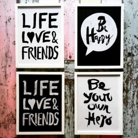 Jetzt pimpen wir nicht mehr nur eure Kleiderschränke sondern auch eure Wände auf! WE  @jute_beutel #halloherz #berlin #kastanienallee #jutebeutel #life #love #friends #behappy #beyourownhero #liebe #herzchenindenaugen #pimpmywall