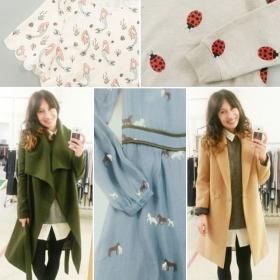 Showroom @sugarhillboutique  #summer #autmn #winter #2016Ja ihr seht richtig, es ist eine Arielle Bluse! aaaawwww… #halloherz #berlin #kastanienallee #sugarhill #arielthelittlemermaid #ladybug #sweater #horse #dress #coat #camel #olive #ootd #love #herzchenindenaugen #liebe #omg