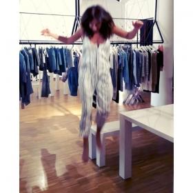 HAPPY FRIDAY  Harte Arbeit im Showroom bei @a_game_berlin  Wir kriegen Herzklopfen bei der Frühlingskollektion 2017  @minkpink_de @official_minkpink #halloherz #berlin #kastanienallee #minkpink #jumpsuit #blackandwhite #stripes #agame #showroom #spring #2017 #love #happyfriday #liebe