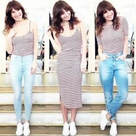 Wäre mein Herz gemustert hätte es Streifen!  #ootd Top, Kleid und Shirt von @wearembym Jeanshosen von @globalfunk Kette von @allaboutarticus Schuhe von @vagabondshoemakers #halloherz #berlin #kastanienallee #mbym #basics #stripes #welovestripes #skinny #jeans #momjeans #globalfunk #sneakers #leather #vagabond #necklace #allaboutarticus #handmade #shopping #style #fashion #fashionlover #outfit #picoftheday #insta #happy #love