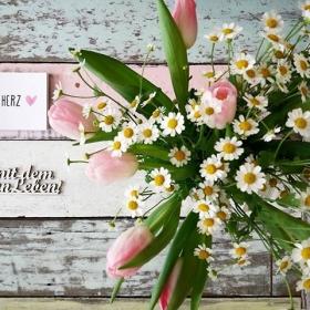 #halloherz #berlin #kastanienallee #style #shopping #fashion #fashionlover #flowers #tulips #daisy #marguerite #nature #colours #pastel #postcard #heart #love #picoftheday #hermitdemschönenleben
