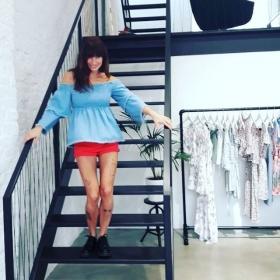 MAXIMALER JEANS-CRUSH SOMMER 2018  WIE EIN BOOM BOOM BOOM BOOM BOOMERANG  @official_minkpink @minkpink_de @a_game_berlin #halloherz #berlin #kastanienallee #minkpink #agame #showroom #summer #summer2018 #summercollection #jeans #volantes #jeansshorts #docmartens #tattoo #tattoolivia #legtattoo #legs #boomerang #monday #happymonday #happy #fun #sun #girl #love #liebe