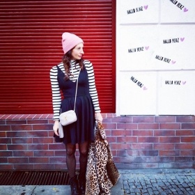 Immer diese Schmierfinken… #itwasntme Voll süß aber!  #ootd @official_minkpink @wearembym @bataillonbelette @esperandohamburg @drmartensofficial @ysl #halloherz #berlin #kastanienallee #minkpink #mbym #bataillonbelette #drmartens #esperando #ysl #saintlaurent #leo #animal #ihavethisthingwithpink #girlpower #girlboss #style #fashion #shopping #streetstyle #streetart #urban #urbanart #xberg #kreuzberg #girls #fashiongoals #love