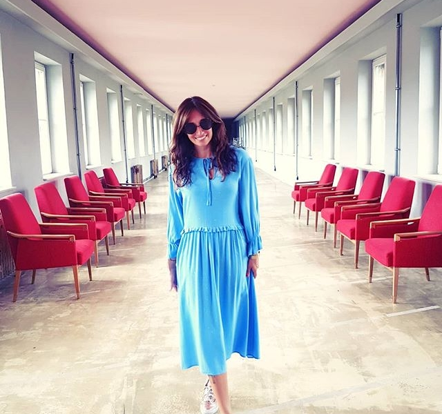 SHOWROOM-CRUSH  @numph_dk  SPRiNG 2019  #halloherz #berlin #kastanienallee #nümph #dress #blue #shades #chairs #funkhausberlin #showroom #girlpower #girlboss #style #fashion #shopping #girls #ootd #fashiongoals #love #liebe