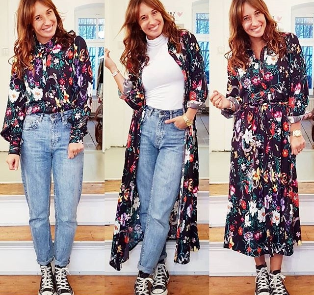 Fighting with #flowers against #winterblues  Kleid (109,95 €) und Bluse (69,95 €) von @softrebels  Jeans (79,95 €) von @globalfunk  Rolli (29,95 €) von @wearembym  #halloherz #berlin #kastanienallee #softrebels #dress #flower #flowerprint #colours #globalfunk #jeans #allstars #girlpower #girlboss #style #fashion #shopping #girls #fashiongoals #love #liebe