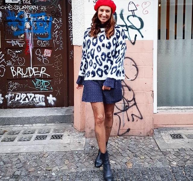 Kleidchen-Montag  Kleid (swipe) 69,90 € @official_minkpink  Pullover 79,90 € @nümph  Mütze 34,90 @wearembym  #halloherz #berlin #kastanienallee #ootd #minkpink #dress #nümph #knit #animal #mbym #hat #kreuzberg #streets #streetstyle #monday #happymonday #girlpower #girlboss #style #fashion #shopping #girls #fashiongoals #love #liebe